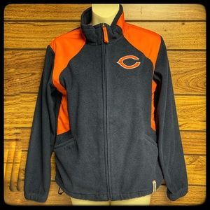 Reebok Chicago Bears full zip up jacket size M